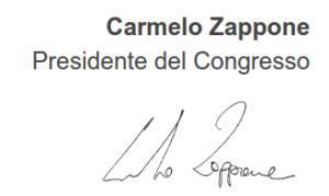 Presidente del congresso 2015